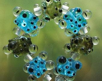 Сaviar - Handmade Lampwork Beads Set (SRA)