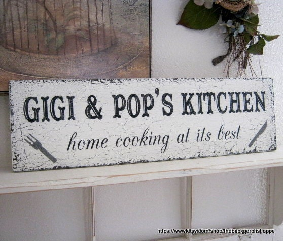Personalised Kitchen Signs: KITCHEN SIGNS Personalized Kitchen Signs Home Cooking