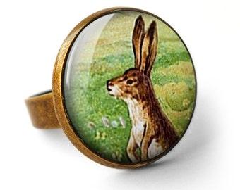 Vintage Hare Ring (ER08)