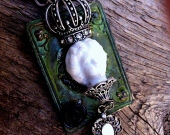 Steampunk Fantasy Goth Renaissance Pirate Necklace