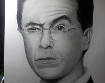 Stephen Colbert Original Drawing