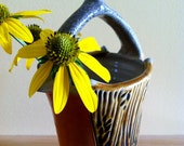 Amber Carved Vase