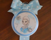 Further Reduced!! - Elsa Hair Bow Holder