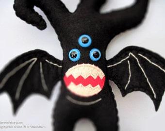 Plush Fantasy Monster Felt Faiytale Monster Plushie