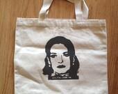 Tote Bag, Canvas Bag, Lolita Lebron, Puerto Rican revolutionary