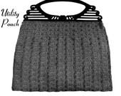 "Vintage Crochet Pattern 1930's Gimp Purse Pattern ""The Utility Pouch"" -INSTANT DOWNLOAD-"