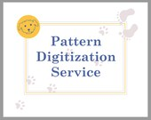 RESERVED for LISA ** Pattern Digitization Service | Pattern Vectorization Service