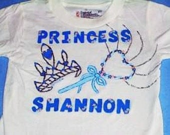 Personalized Princess Shirt, Little Girl Princess Shirt, Toddler Princess, Custom Princess Tee, Girly Girl Shirt