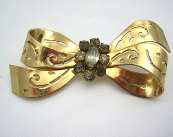 Vintage Coro Bow Brooch
