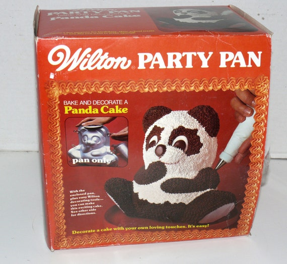 Wilton Panda Cake Pan Instructions
