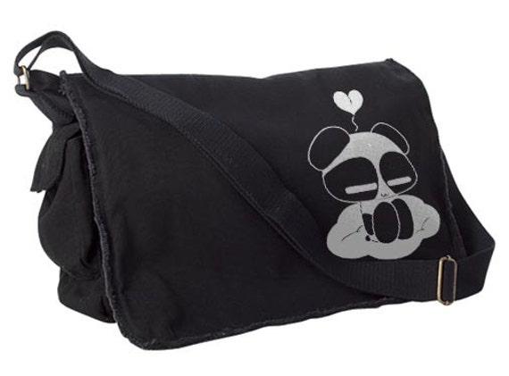 Panda Bag cute messenger bag kawaii asian school bag panda