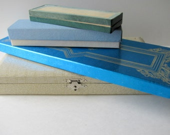 Destash Collection of Vintage Presentation Boxes