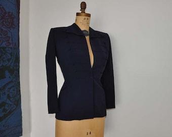 1940s jacket / Military Madness Vintage 40's Gab Jacket