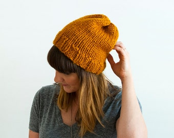 The Wren + Chunky Knit Hat + You Choose the Color