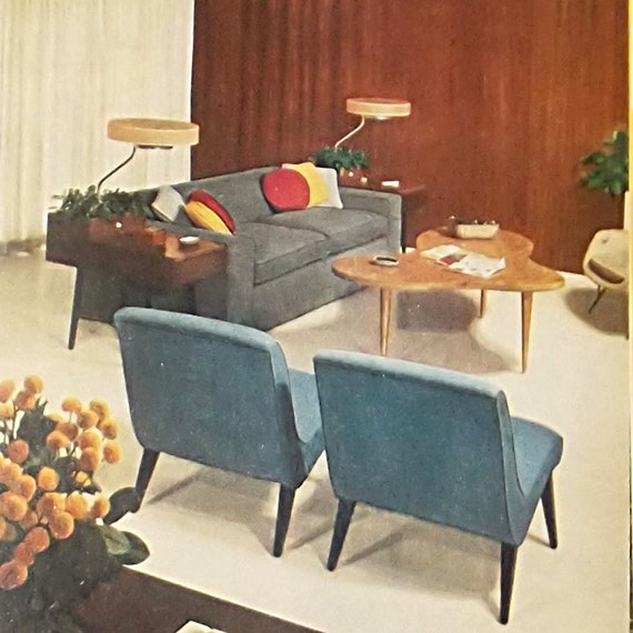 1960S Interior Design Book / 60S Vintage Book / Better Homes