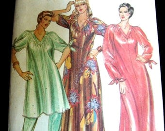 Butterick Vintage sewing pattern CAFTAN Extra large size 20 Tunic and Pants Uncut factory folds 1970s