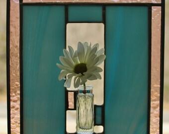 Stained Glass Suncatcher Budvase