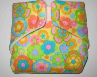 Baby Doll Cloth Diaper/Wipe-Weird Circles-Fits Bitty Baby, Baby Alive, Cabbage Patch, American Girl Dolls and More/Wipe