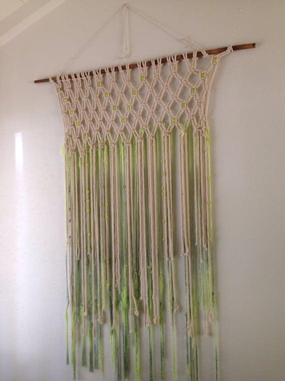Bohemian Macrame Wall Hanging Weaving