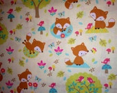 Little Fox Fabric by the yard
