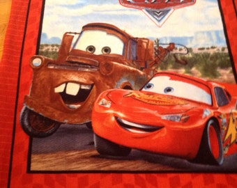 McQueen and Mater quilt
