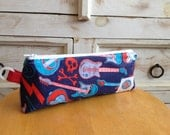 """Rock and Roll """"Cool Case"""" Pencil Bag"""