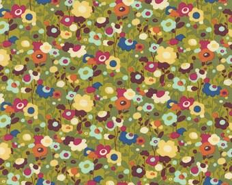 Avant Garden fabric | Clover Poppin Poppies fabric 16126 14 | Momo