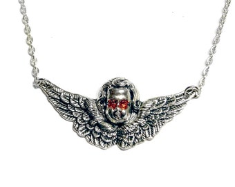 Sweet Cherub Necklace
