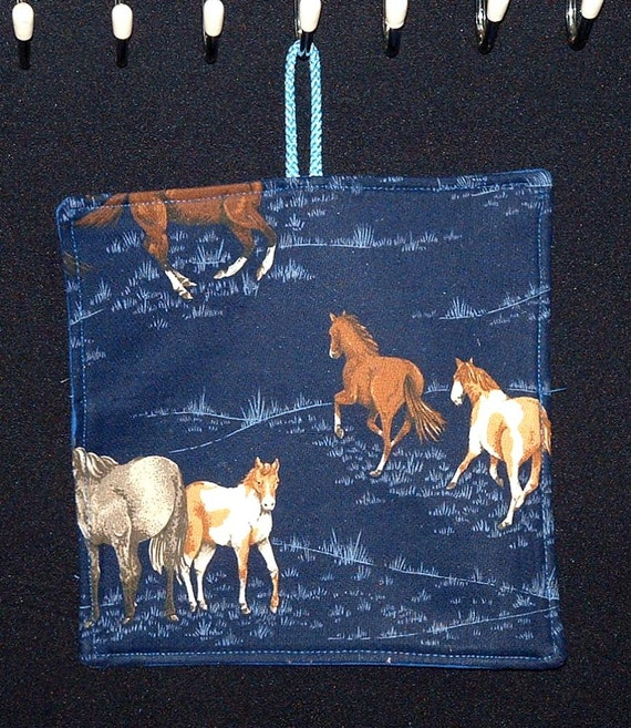 Items Similar To Pot Holder Horses Country Kitchen Theme Home D Cor Kitchen Decor