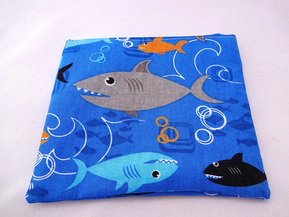Shark Reusable Snack Bag
