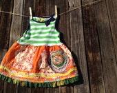 Tank Dress - Jumper! Handmade OOAK Size 1 to 2T