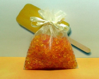 Dreamsicle Aroma Bead Sachets (Set of 2)  GREAT In THE CAR Air Fresheners