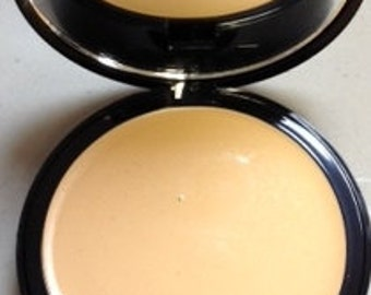 Natural Cream to Powder  Mineral Foundation Perfect Match™  in LIGHT Non-Comedogenic Natural Cosmetics