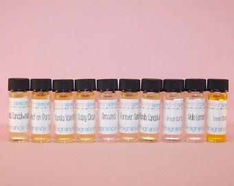 Perfume Oil Samples 10 Pack - Perfume Set - Perfume Sample Set - Perfume Gift Set - You Choose the Scents