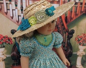 Shaftesbury Avenue - Victorian dress for American Girl doll with undergarments