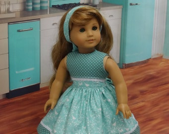 Meadow Song - Dress for American Girl doll