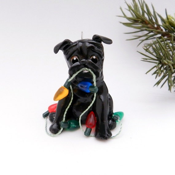Pekingese Christmas Ornaments
