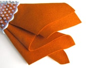 Sweet Potato, Wool Felt, Pure Merino Wool, 1mm Thick, Choose Size, Large Square, Felt Fabric, Penny Rug Felt, Primitive, Autumn