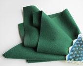 Pine Tree, Wool Felt Sheet, Choose Size, 100% Merino, Felted Wool, Toxin Free, Dark Green, Wool Applique, Waldorf Handwork, Craft Felt