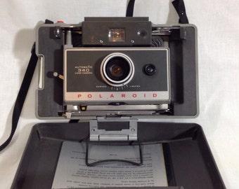 Polaroid Land Camera 340