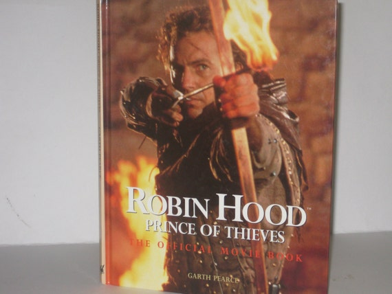 kevin costner robin hood the movie 1991 book vintage by
