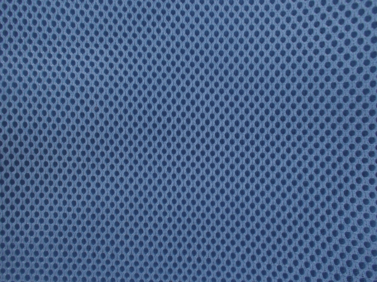 60 Wide Padded Foam Mesh Fabric Slate Blue Auto Upholstery Bags Shoes Backpacks Straps Crafts Spacer