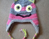 Little Monster Hat - Size 2years