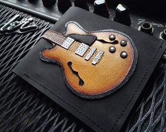 Mens Wallet Guitar 335 Honey Sunburst Color