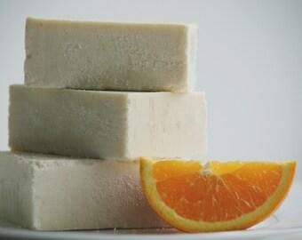 Citrus Summer Sea Salt Soap - Luxury Sea Salt Soap Bar - Essential Oil Soap