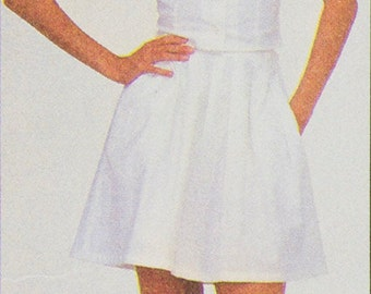McCall's 8024 Sewing Pattern Camisole, Skirt and Culottes, 2 Patterns,  Bust 31.5, 36, Size 8 and 14, Designed by Sherry Holt