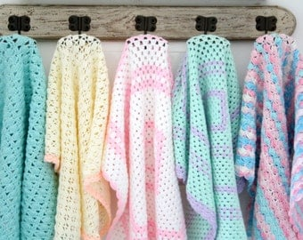 Newborn crochet Baby Blanket