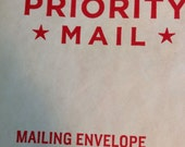 Priority mail postage upgrade US mail-
