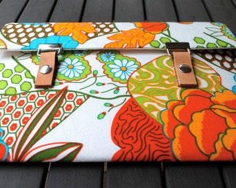 Microsoft Surface 3 Case / Asus Chromebook Flip Case / Asus Zenbook Case / Microsoft Surface Book Case - Summer Sketch Neon