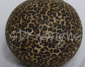 Balloon Ball TOY - Cheetah Wild zoo animal print fabric - As seen with Michelle Obama on Parenting.com